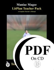 Maniac Magee LitPlan Lesson Plans (PDF on CD)