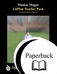 Maniac Magee LitPlan Lesson Plans (Paperback)