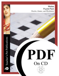 Medea Puzzle Pack Worksheets, Activities, Games (PDF on CD)