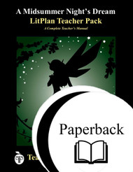 A Midsummer Night's Dream LitPlan Lesson Plans (Paperback)