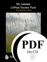 My Antonia LitPlan Lesson Plans (PDF on CD)