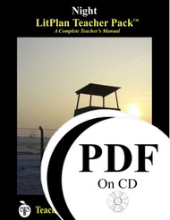 Night LitPlan Lesson Plans (PDF on CD)