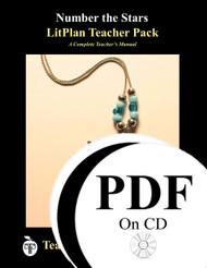 Number the Stars LitPlan Lesson Plans (PDF on CD)