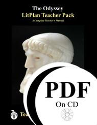 The Odyssey LitPlan Lesson Plans (Paperback)