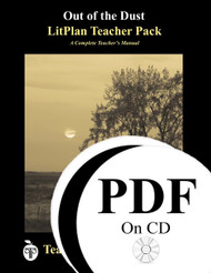 Out of the Dust LitPlan Lesson Plans (PDF on CD)