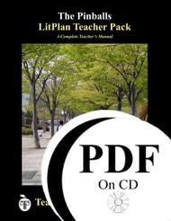 The Pinballs LitPlan Lesson Plans (PDF on CD)