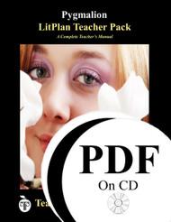 Pygmalion LitPlan Lesson Plans (PDF on CD)