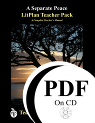 A Separate Peace LitPlan Lesson Plans (PDF on CD)