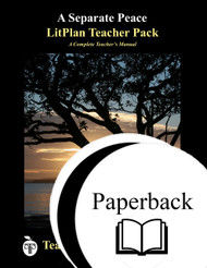 A Separate Peace LitPlan Lesson Plans (Paperback)