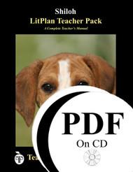 Shiloh LitPlan Lesson Plans (PDF on CD)