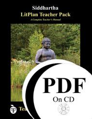 Siddhartha LitPlan Lesson Plans (PDF on CD)