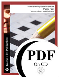 The Summer of My German Soldier Puzzle Pack (PDF on CD)