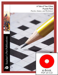 A Tale of Two Cities Puzzles, Worksheets, Games | Puzzle Pack on CD