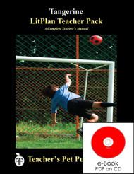 Tangerine Lesson Plans   LitPlan Teacher Pack on CD