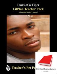 Tears of a Tiger LitPlan Lesson Plans (Paperback)
