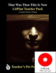 That Was Then This Is Now Lesson Plans | LitPlan Teacher Pack on CD