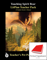 Touching Spirit Bear LitPlan Lesson Plans (Paperback)