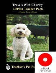 Travels With Charley Lesson Plans | LitPlan Teacher Pack on CD