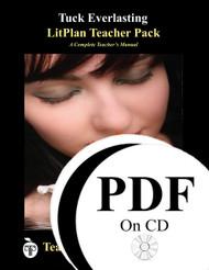 Tuck Everlasting LitPlan Lesson Plans (PDF on CD)