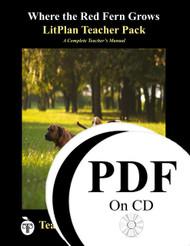 Where the Red Fern Grows LitPlan Lesson Plans (PDF on CD)