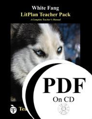 White Fang LitPlan Lesson Plans (PDF on CD)