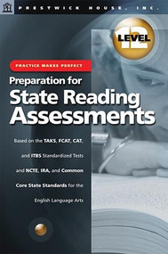 Practice Makes Perfect Prep For State Reading Assessments Grade 12