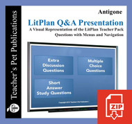 Antigone Study Questions on Presentation Slides | Q&A Presentation