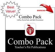 Scorpions Lesson Plans Combo Pack