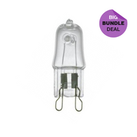 Halogen 25W 240V G9 Clear (RAT Stands)