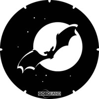 Bat in Moon (Goboland)