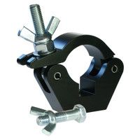 Slimline Doughty Hook Clamp Coupler (Black)