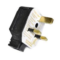 13A Permaplug Plug - Black