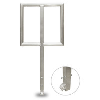2ft Open Handrail for Spacedeck