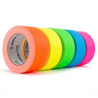 Various colours of bright matt gaffer tape
