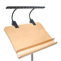 Rat stand Double Trio Clip-on Light