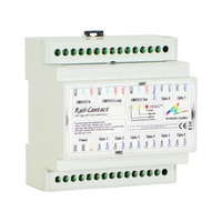 DIN Rail Contact closure DMX Trigger Unit