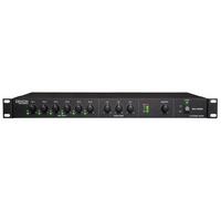6-Channel mixer, XLR combo inputs