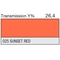 LEE Filters - 025 Sunset Red