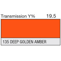 135 Deep Golden Amber