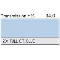 LEE Filters - 201 Full CT Blue