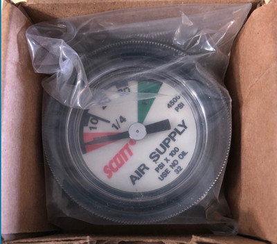 Scott 4500 psi Gauge
