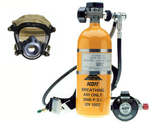 Scott SKA-Pak Supplied Air Respirator