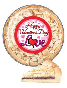 Valentine's Day Cookie Pie - Traditional