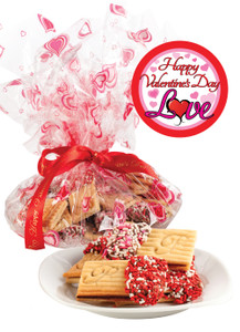 VALENTINES DAY RASPBERRY SANDWICH BUTTER COOKIES