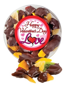 Valentines Day Chocolate Dipped Mixed Fruit