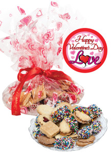 Valentines Day Butter Cookie Assortment