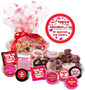Valentine's Day Cookie Talk Message Platter - Business