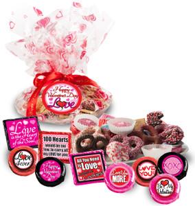Valentine's Day Cookie Talk Message Platter - Love