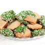 Irish Raspberry Filled Sandwich Butter Cookie Platter