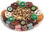 St Patrick's Day Caramel Popcorn & Cookie Platter - No Top Label